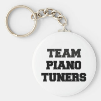 Team Piano Tuners Key Chain