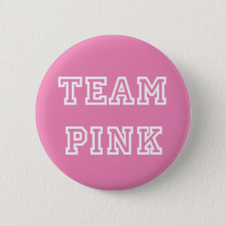Team Pink Gender Reveal Button