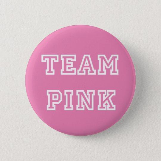 Team Pink Gender Reveal Button
