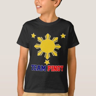 Team Pinoy 3 stars and a Sun T-Shirt