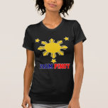 Team Pinoy 3 stars and a Sun T-shirt