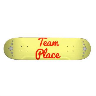 Team Place Custom Skateboard