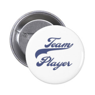 Team Player 6 Cm Round Badge