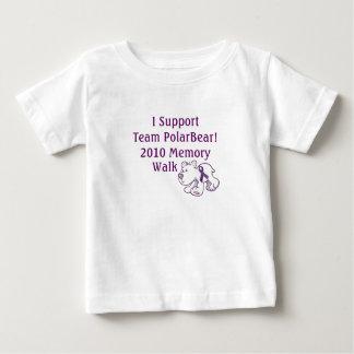 Team PolarBear Support! Baby T-Shirt
