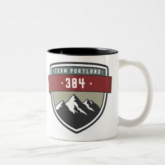 Team Portland 304 Two Tone mug