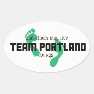 Team Portland Stickers