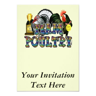 Team Poultry Card
