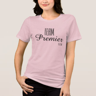 Team Premier Relaxed Fit T-Shirt- Soft Pink T-Shirt