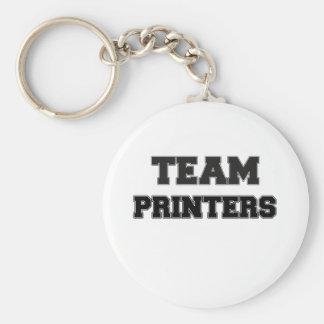 Team Printers Keychains