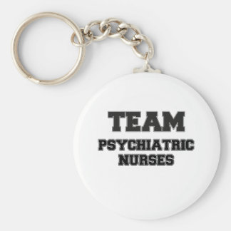 Team Psychiatric Nurses Keychain