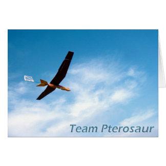 Team Pterosaur Thank You Card