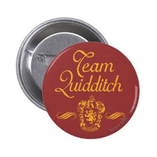 Team QUIDDITCH™ 6 Cm Round Badge