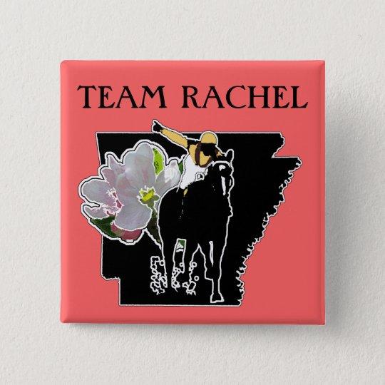Team Rachel Apple Blossom Showdown Button