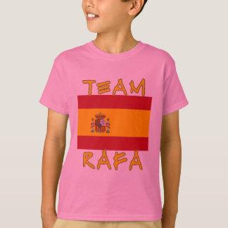 Team Rafa with Spanish Flag T-Shirt