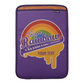 """Team Rainbow custom 13"""" MacBook sleeve"""