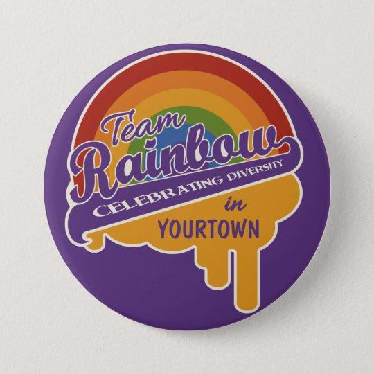 Team Rainbow custom button