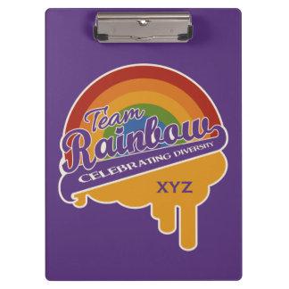 Team Rainbow custom clipboard