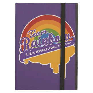 Team Rainbow custom iPad case