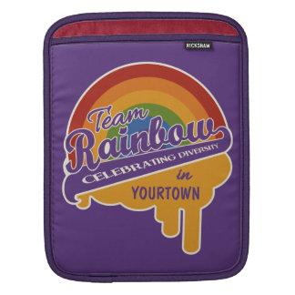 Team Rainbow custom iPad sleeve