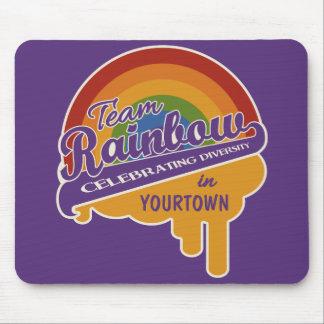 Team Rainbow custom mousepad