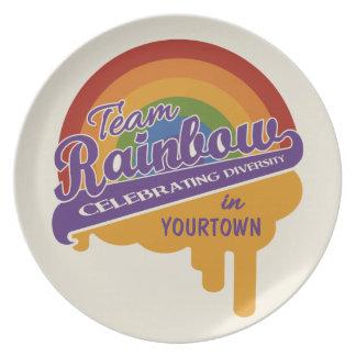 Team Rainbow custom plate