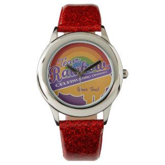Team Rainbow custom watches