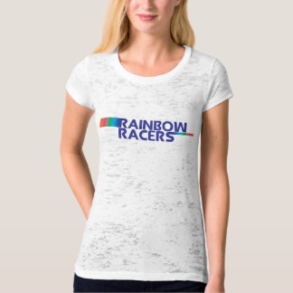 Team Rainbow Racers Color Run Tee