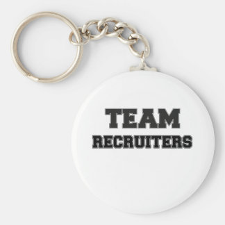 Team Recruiters Key Chains
