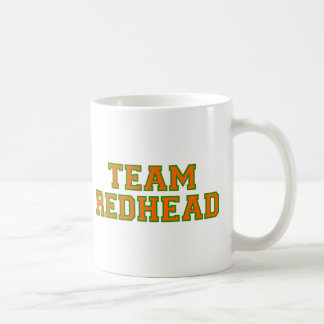 Team Redhead - Orange/Grn Coffee Mug
