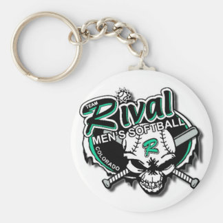 Team Rival Softball Keychain