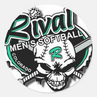 Team Rival Softball Stickers