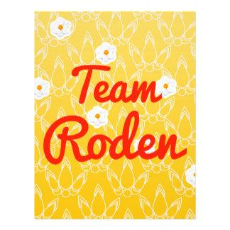 Team Roden Full Color Flyer