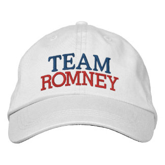 Team Romney -  SRF Embroidered Hats