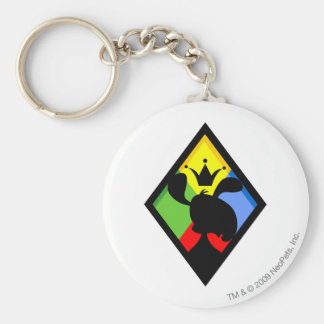 Team Roo Island Logo Basic Round Button Key Ring