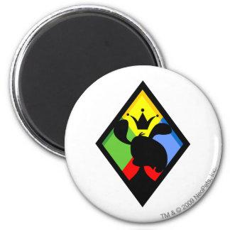 Team Roo Island Logo 6 Cm Round Magnet