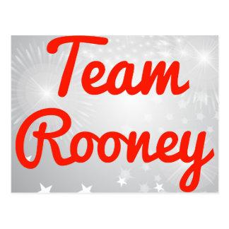 Team Rooney Postcard
