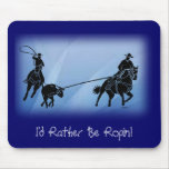 team ropers 201 mouse pad
