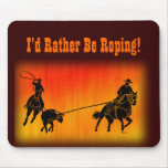 Team Ropers 202 Mousepads