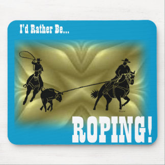 Team Ropers 203 Mouse Mat