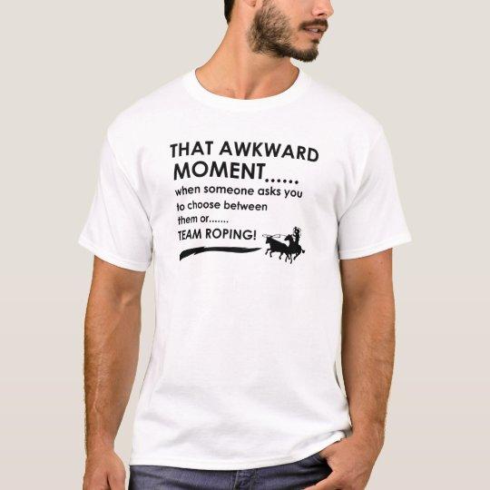 Team roping Sports Designs T-Shirt