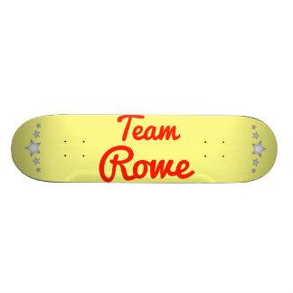Team Rowe Custom Skate Board