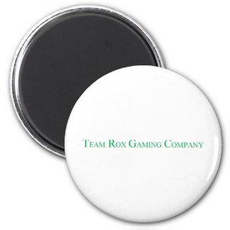 Team Rox Logo 6 Cm Round Magnet