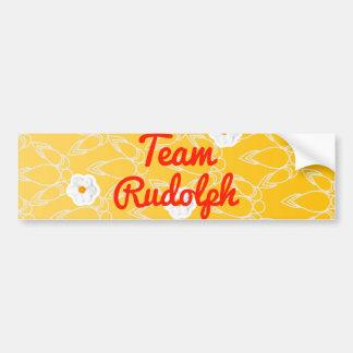 Team Rudolph Bumper Stickers