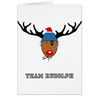 TEAM RUDOLPH Gift - Water Polo Card