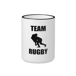 Team Rugby Coffee Mugs