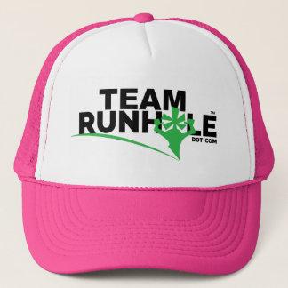 Team Runhole Hat- PINK! Trucker Hat