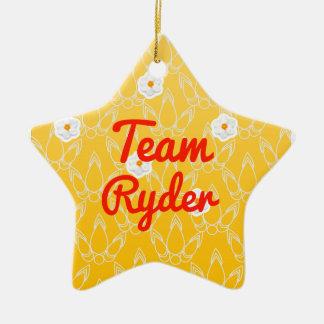 Team Ryder Christmas Ornament