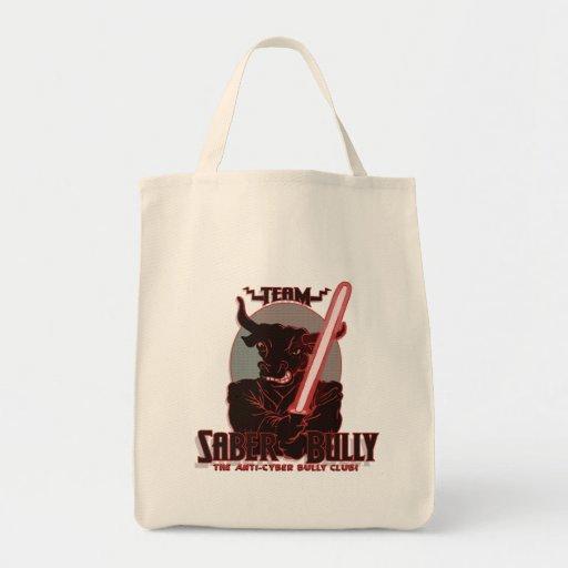 Team Saber Bully Anti- Cyber Bullying Club Bag