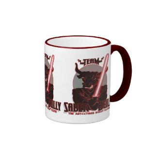 Team Saber Bully Anti- Cyber Bullying Club Coffee Mug