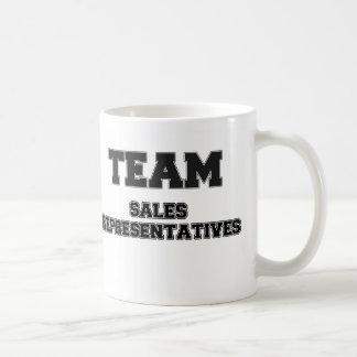 Team Sales Representatives Coffee Mugs